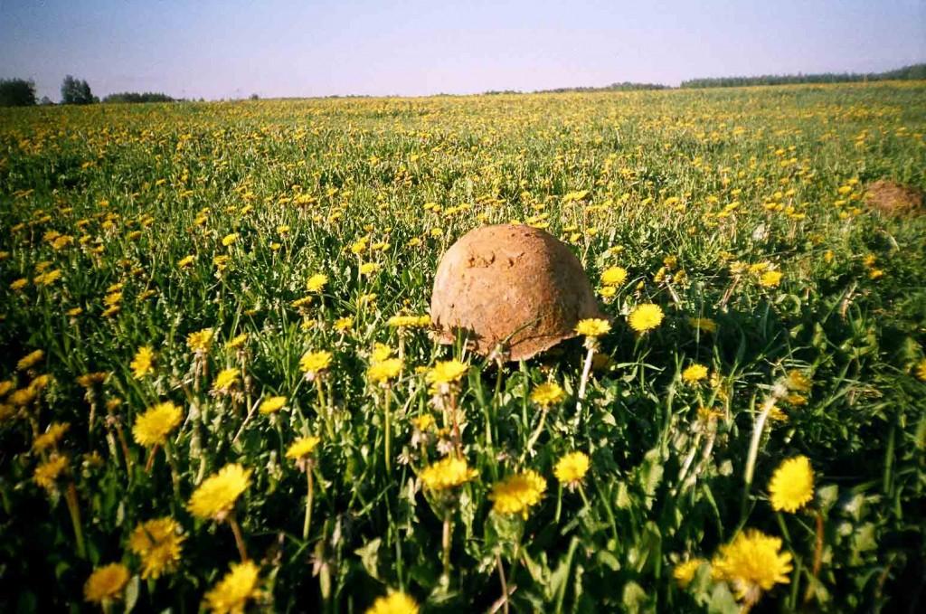 Русское поле. Березино апрель 2004 г.